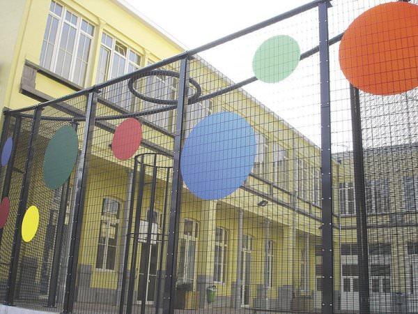 Ограждения детских площадок