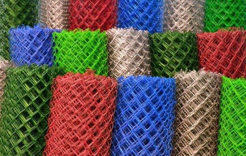 Как выбрать покрытие для сетки рабица