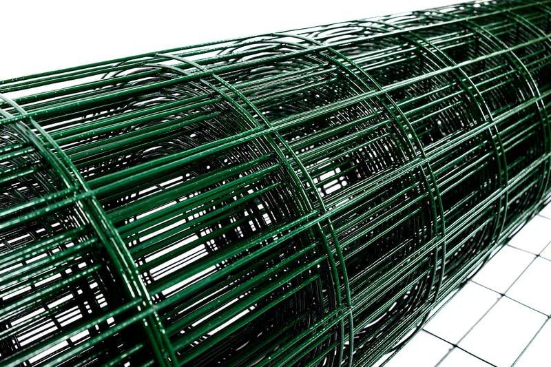 Сетка сварная неоцинкованная с ПВХ-покрытием