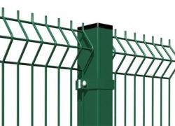 Забор из евроограждения с полимерным покрытием
