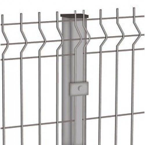 Забор из оцинкованного евроограждения забор из металлических прутьев
