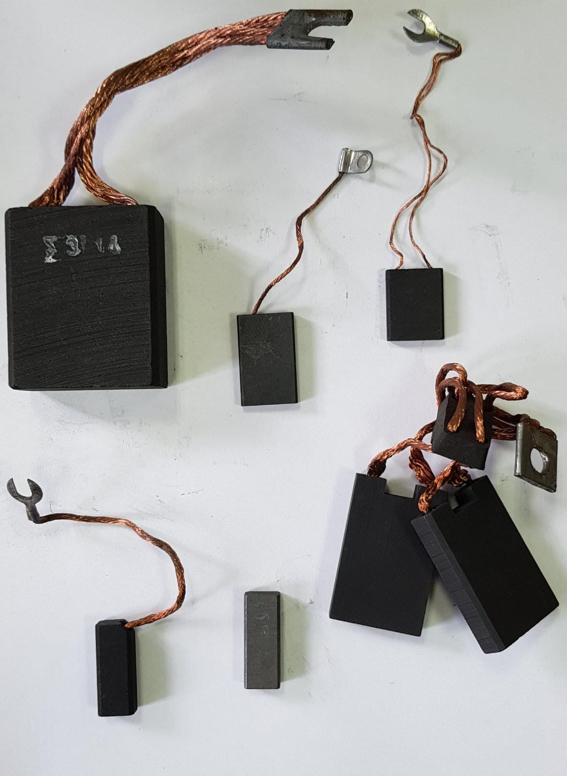 Щетки электрографитные ЭГ